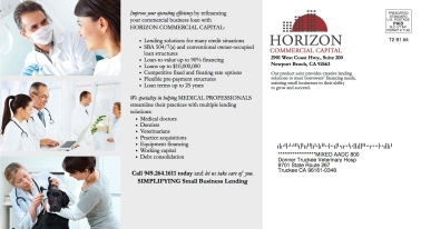 Horizon Medical Address Side